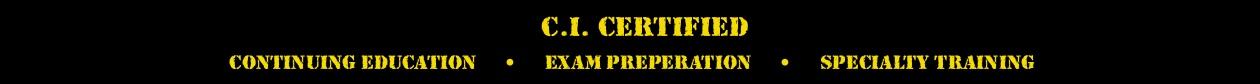 CI® Certified